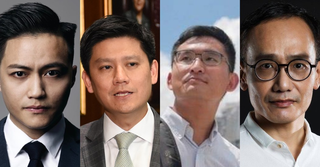 Jeremy Tam, Shun Lee, Sze Tak-loy, Andy Chui.