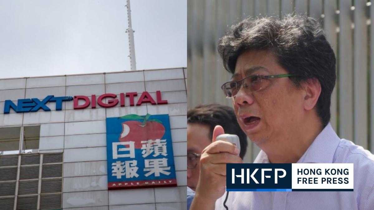 Chris Yeung Apple Daily