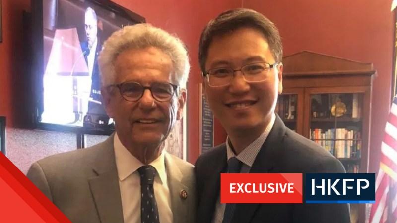 Hong Kong's HKTDC Lobbied US politicians on the human rights and democracy bill