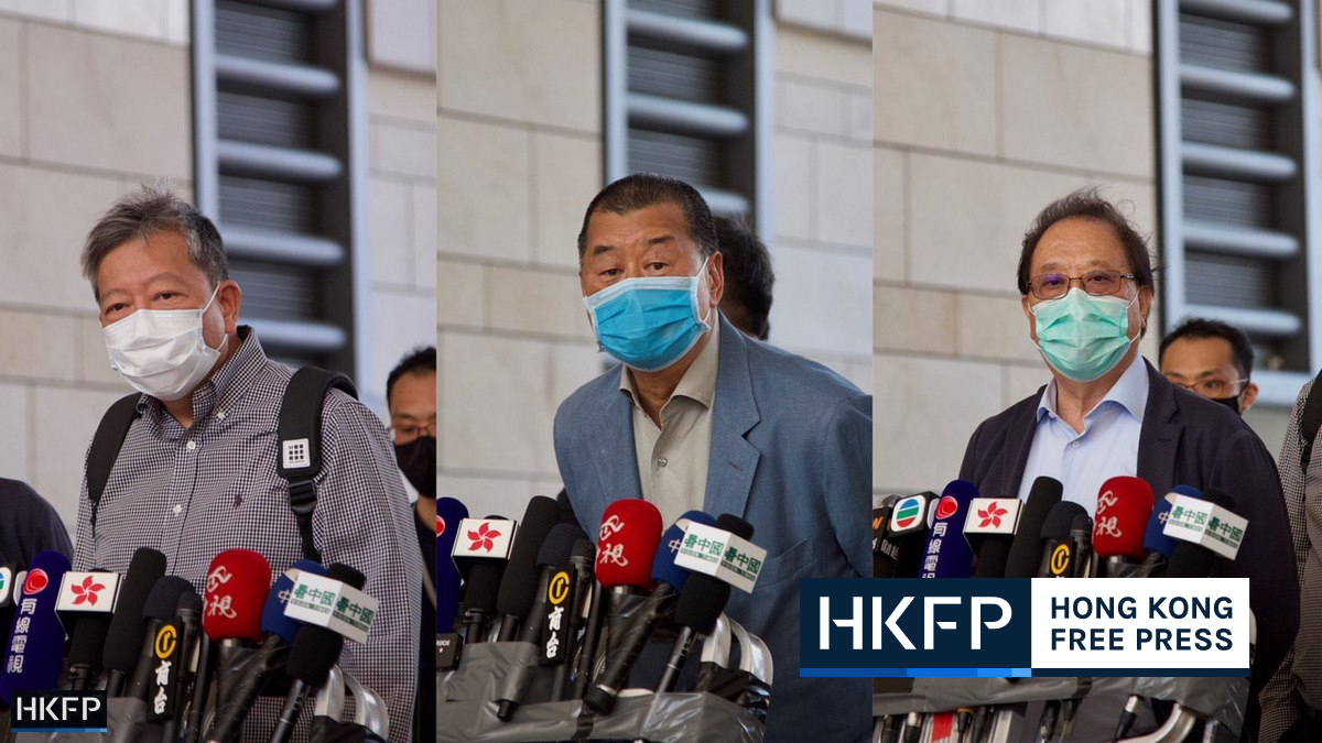Jimmy Lai lee cheuk-yan and yeung sum pleaded guilty