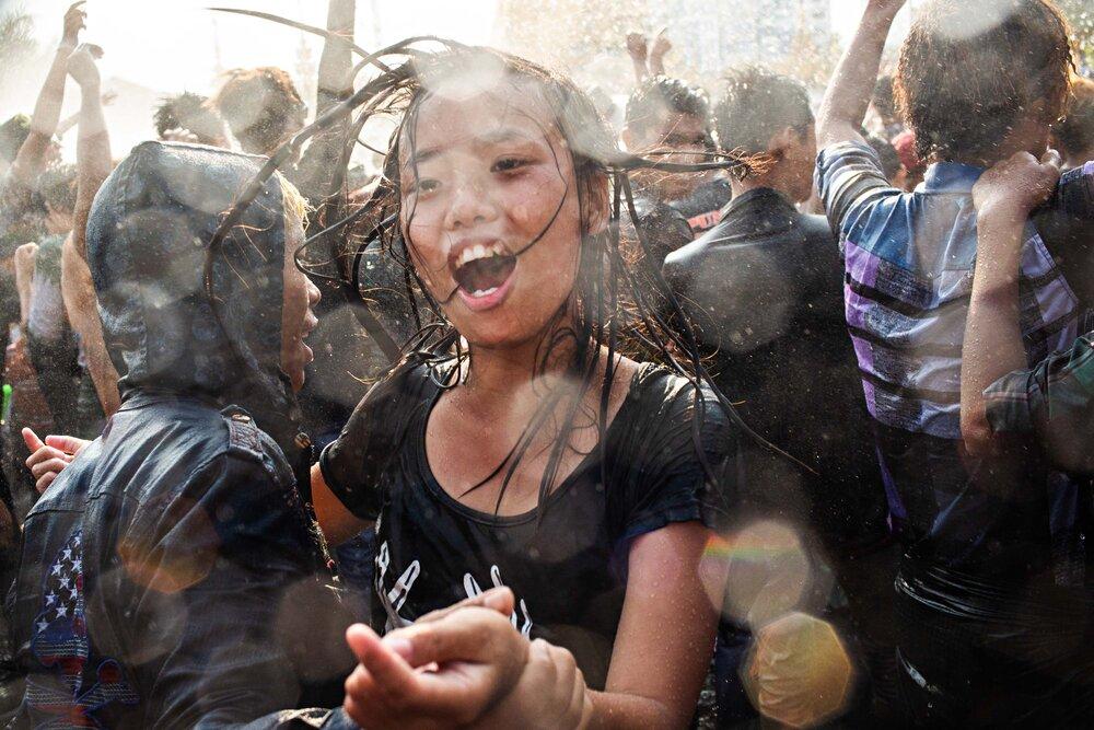 Lauren Decicca - Thingyan Water Festival, Yangon 2015