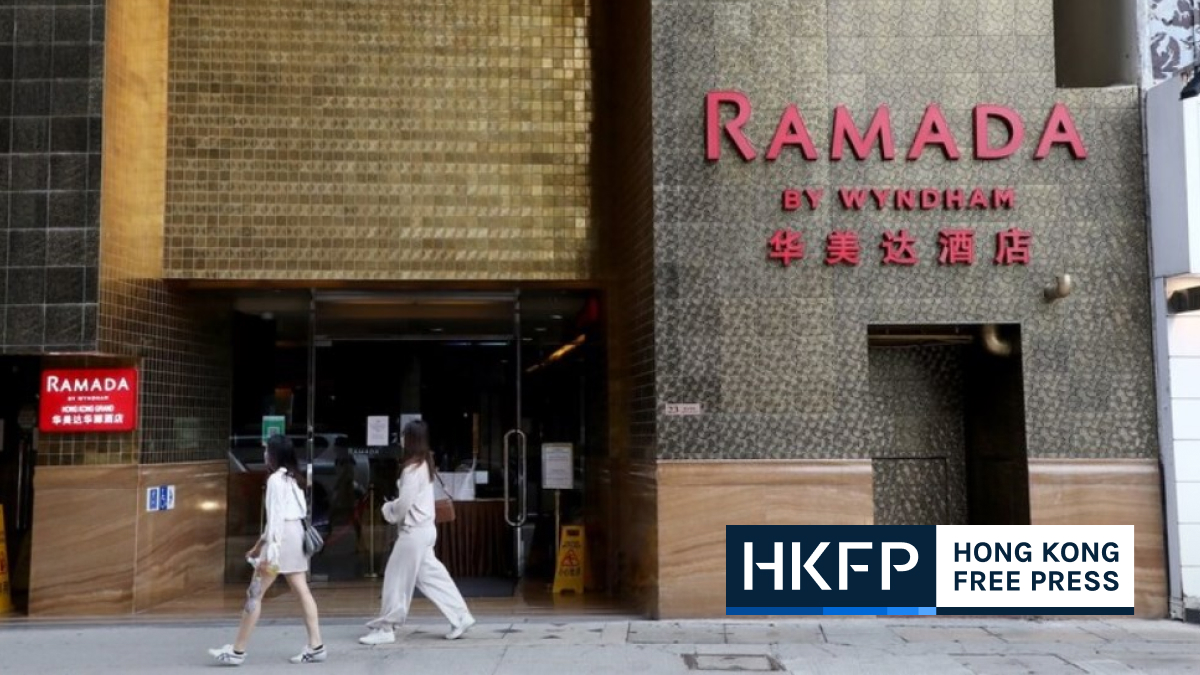 Ramada hotel - 30 covid cases recorded on April 18 in Hong Kong