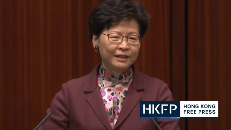 carrie lam says hong kong will consder anything mainland promises if travel can resume