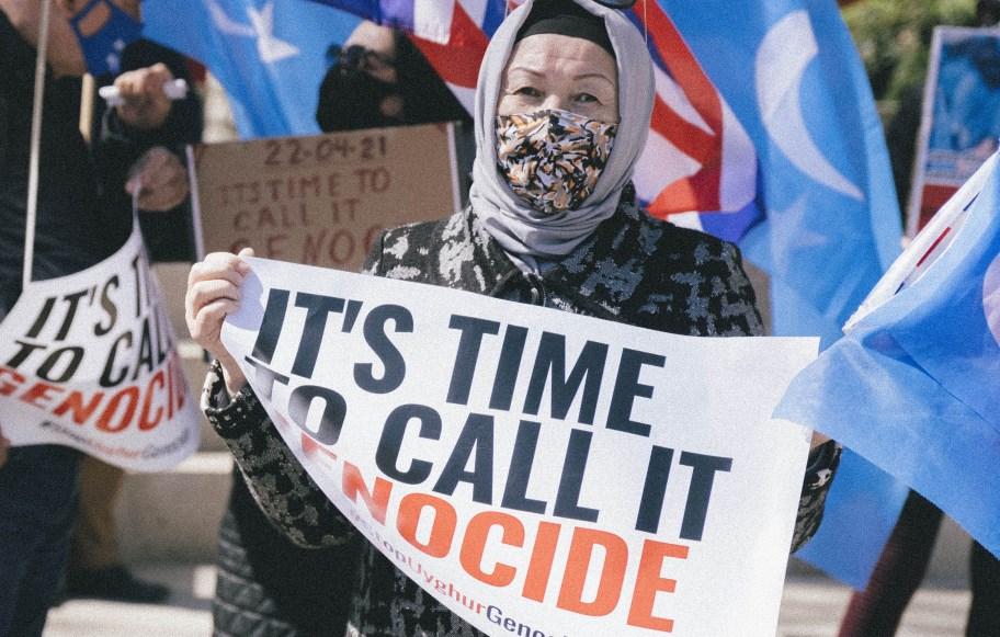 uighur uighur xinjiang protest