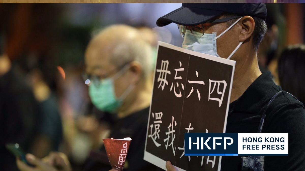 june 4 vigil carrie lam says depends on national security law