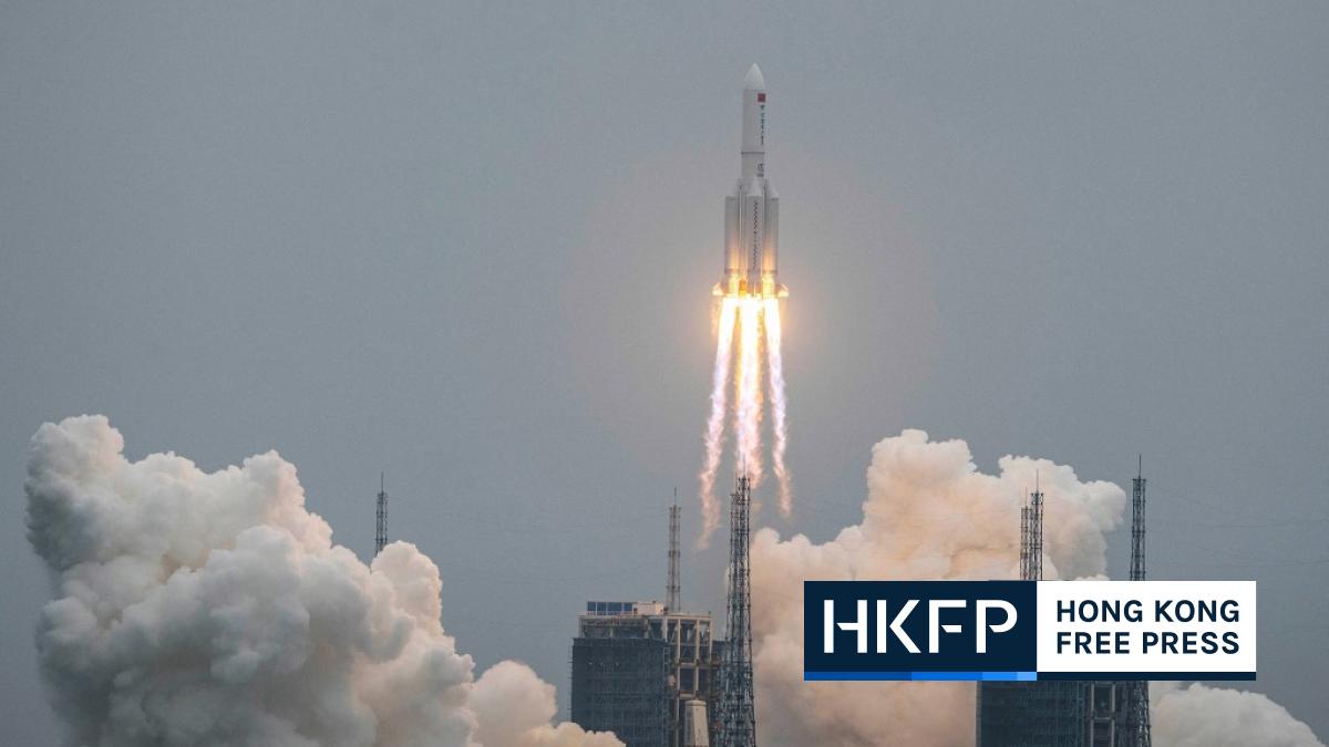 long march 5b rocket of china