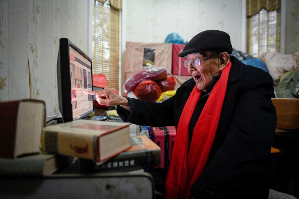 CHINA-SOCIAL-ECONOMY-AGEING