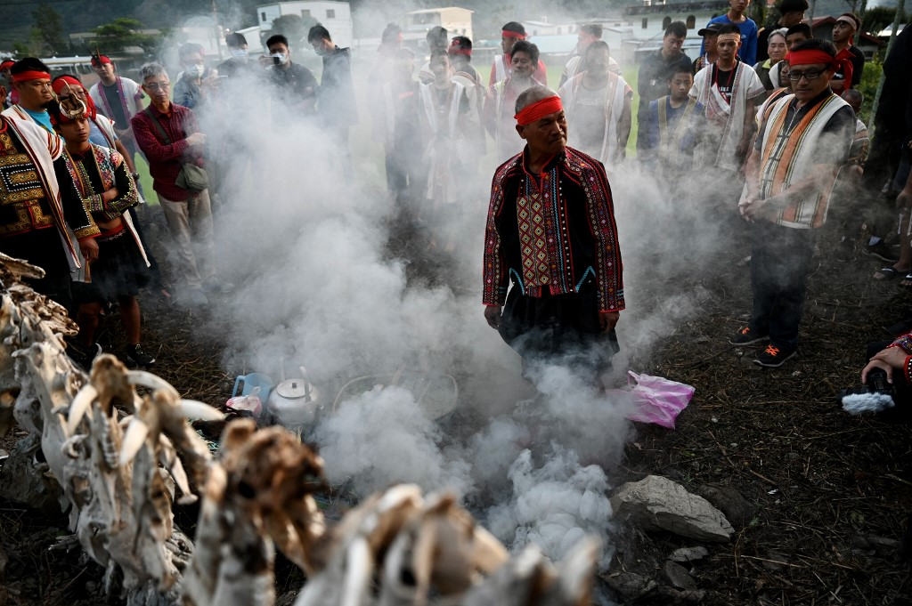 TAIWAN-INDIGENOUS-HUNTING-CULTURE-COURT