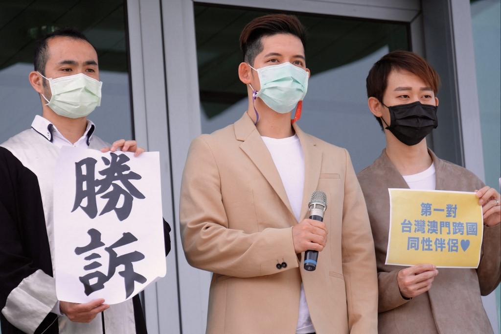 TAIWAN-MACAU-GAY-RIGHTS