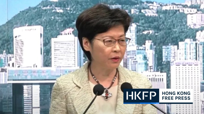 Carrie Lam domestic workers