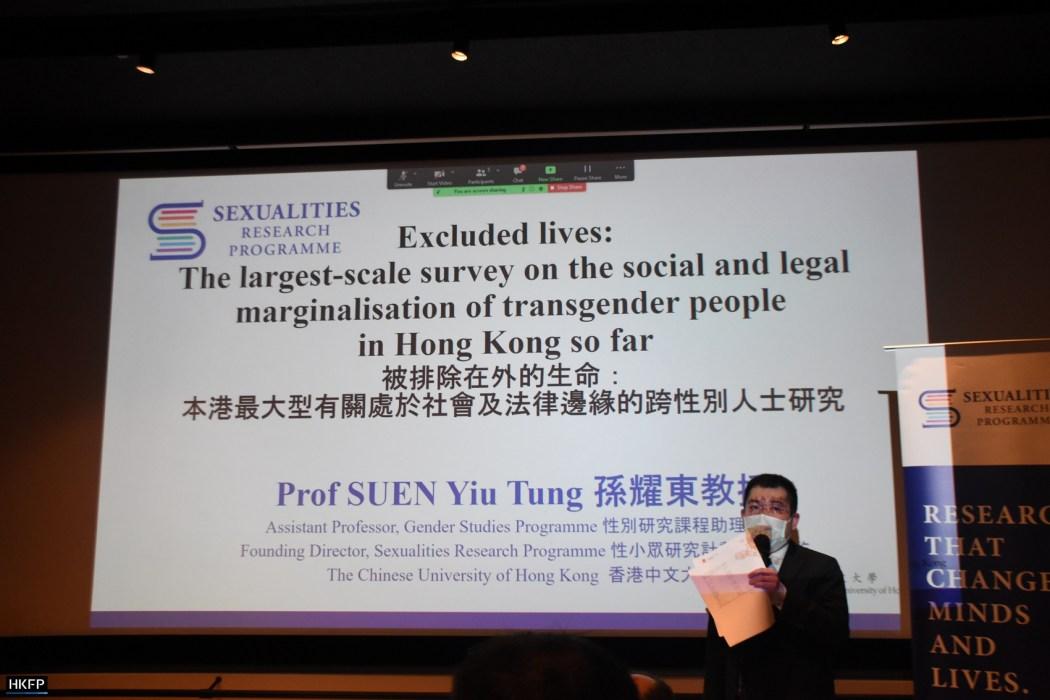 CUHK study on transgender people in Hong Kong