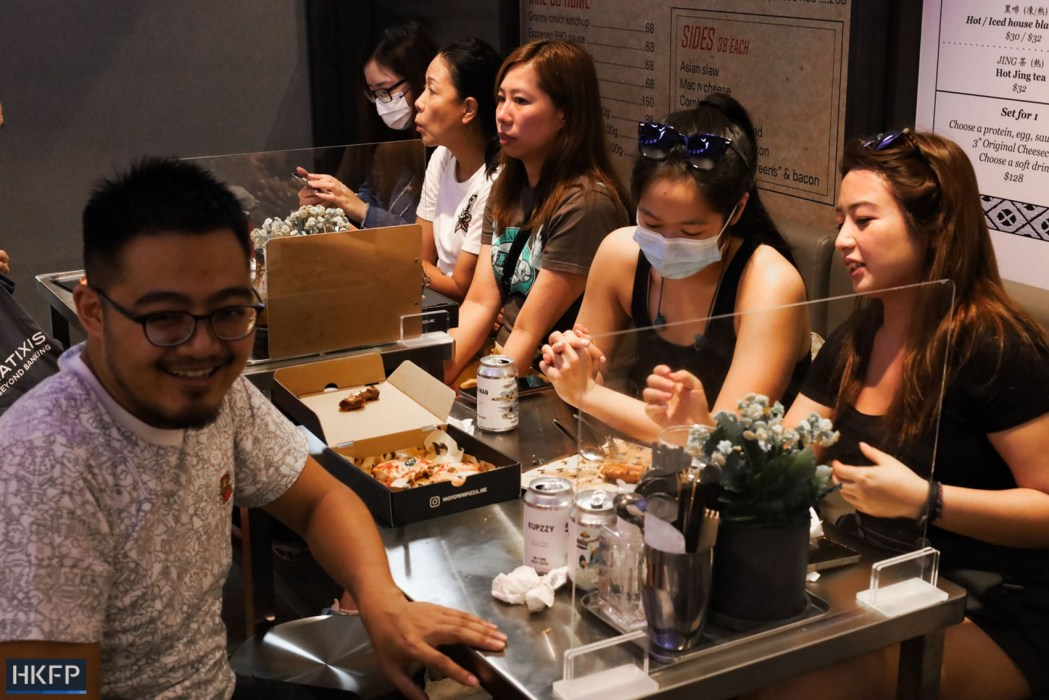 Diners at Graham Street Food Hall (Copy)