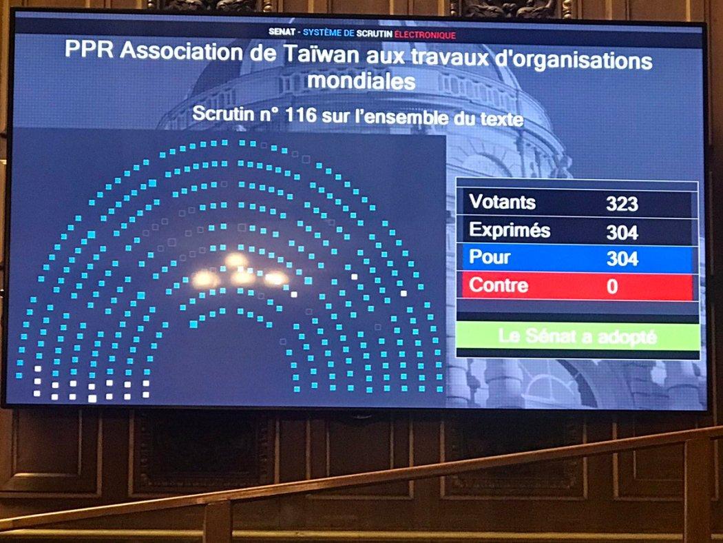 French Taiwan Senate