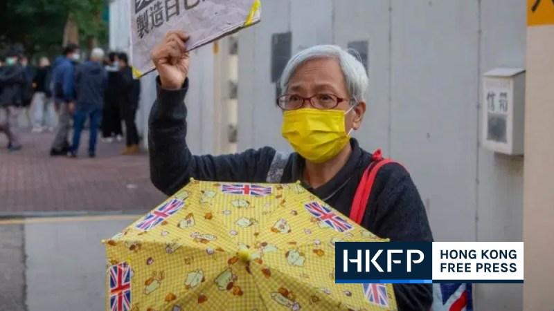 Grandma Wong arrest