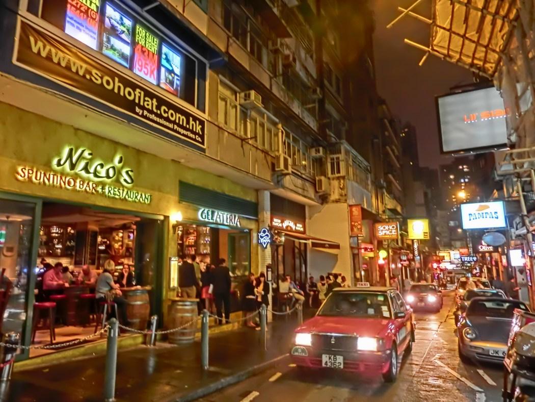 Hong Kong Soho bars