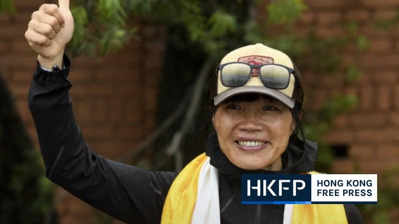 Hong Kong mountaineer Tsang Yin-hung