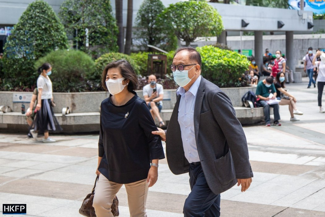 Yeung Sum October 1 unauthorised assembly trial