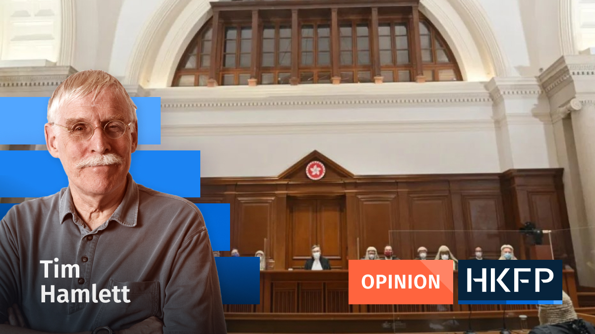 courts - Opinion - Tim Hamlett