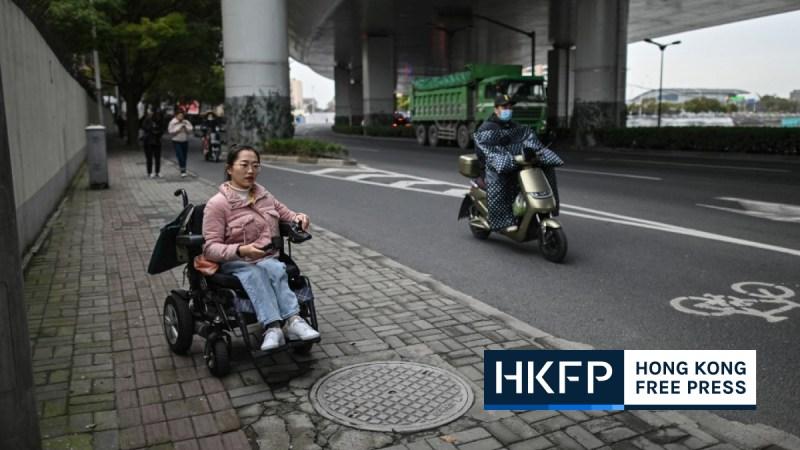 disabled china