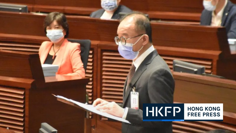 erick tsang said hk gov may catch employees of oveseas websites over doxxing
