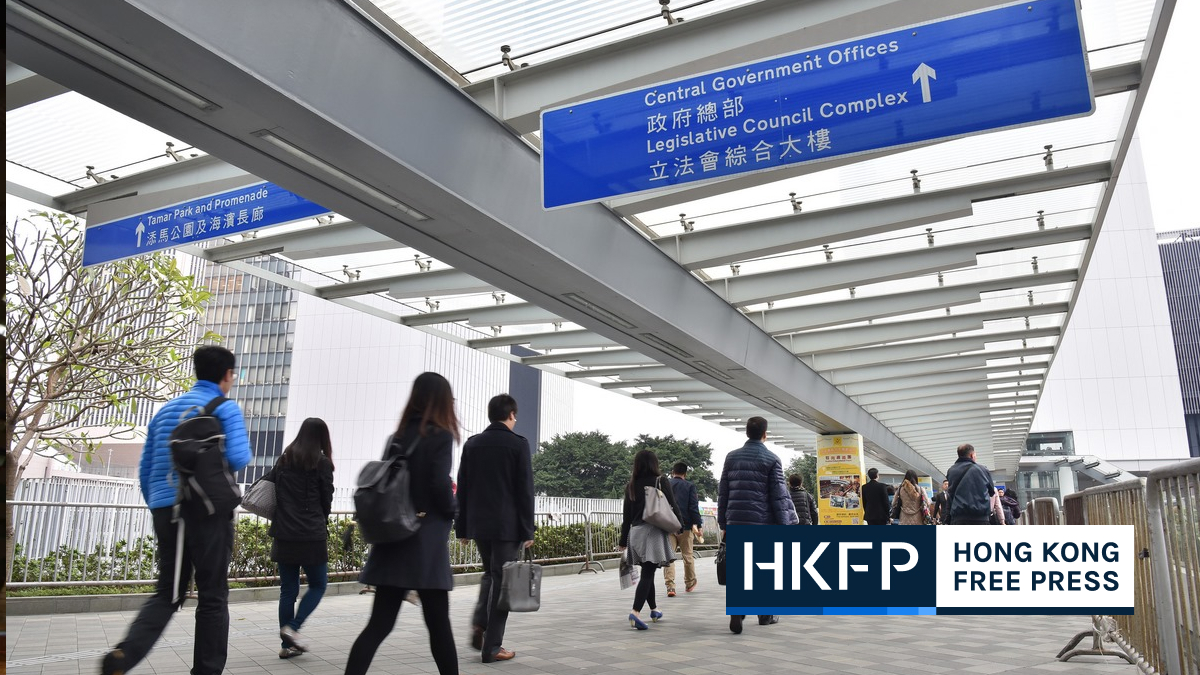 hong kong contract non civil service staff asked to swear allegiance to gov