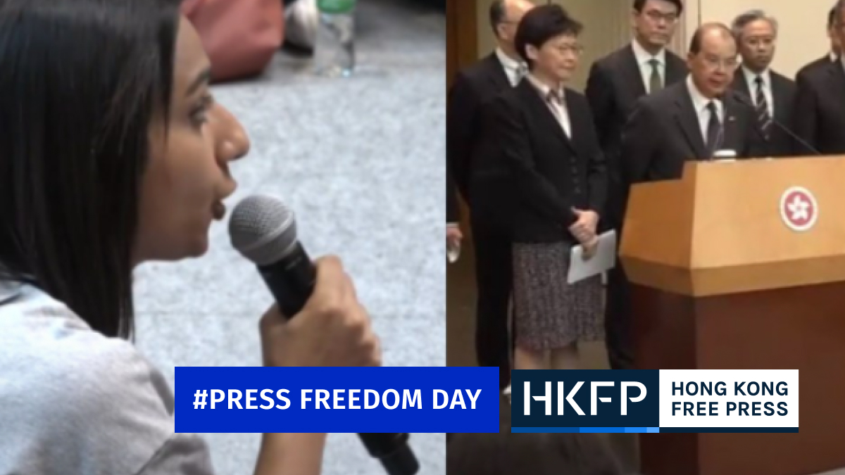Broadcaster RTHK axes contract of reporter known for grilling Hong Kong officials