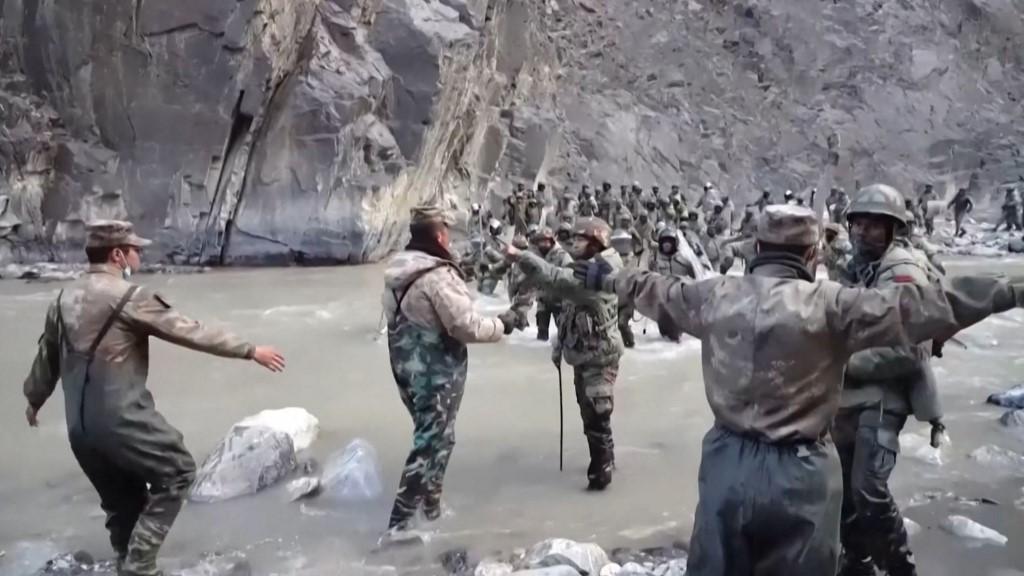 China India galwan valley
