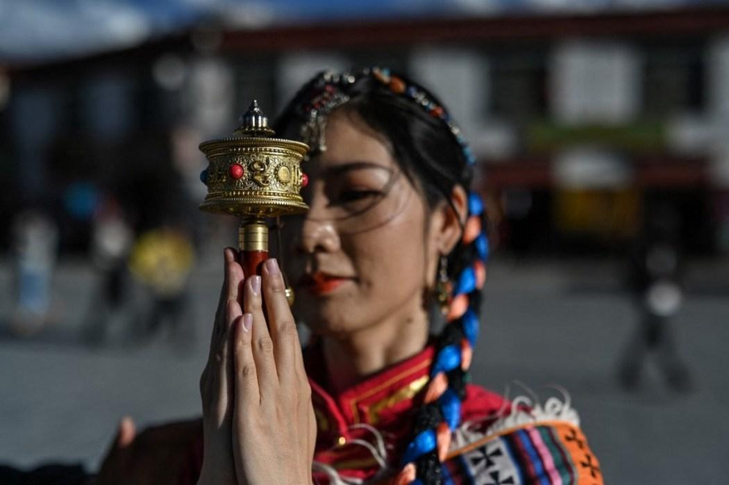 CHINA-TIBET-TOURISM-LIFESTYLE