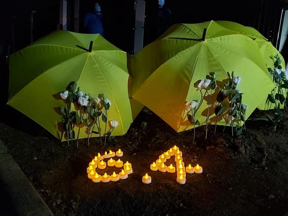 ted hui June 4 yellow umbrella