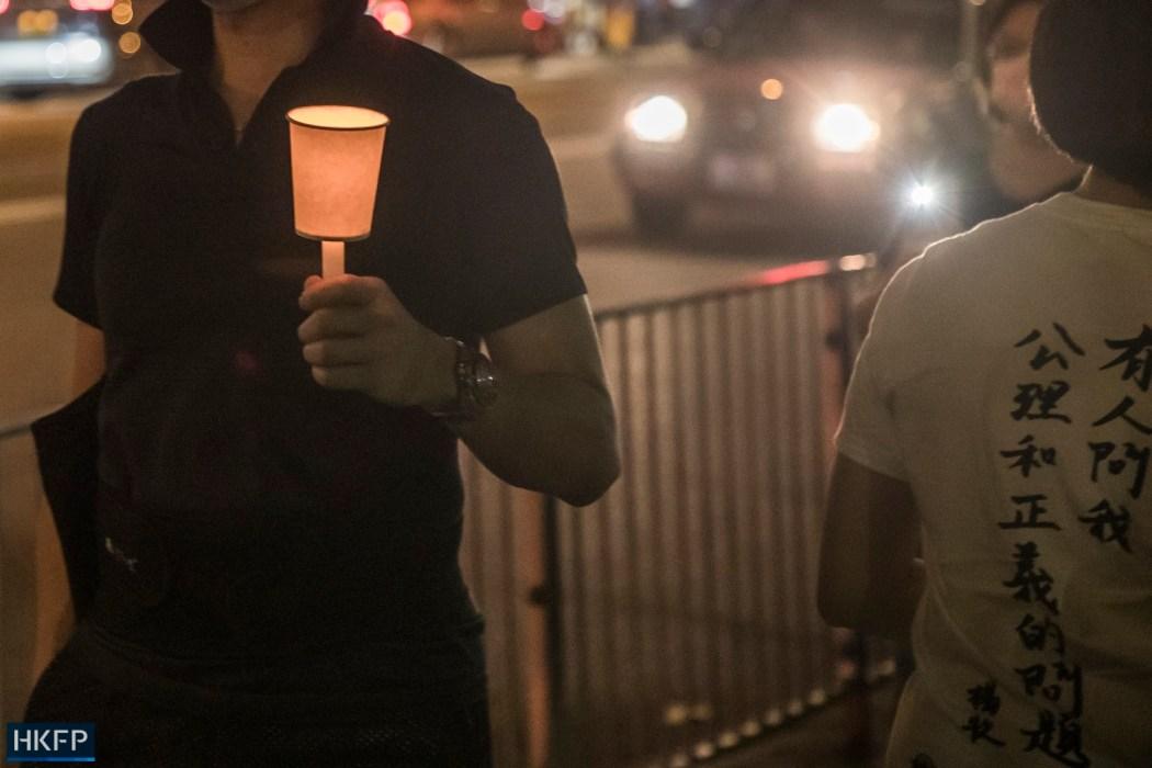 June 4 Tiananmen Square Massacre Victoria Park 2021 candle cup