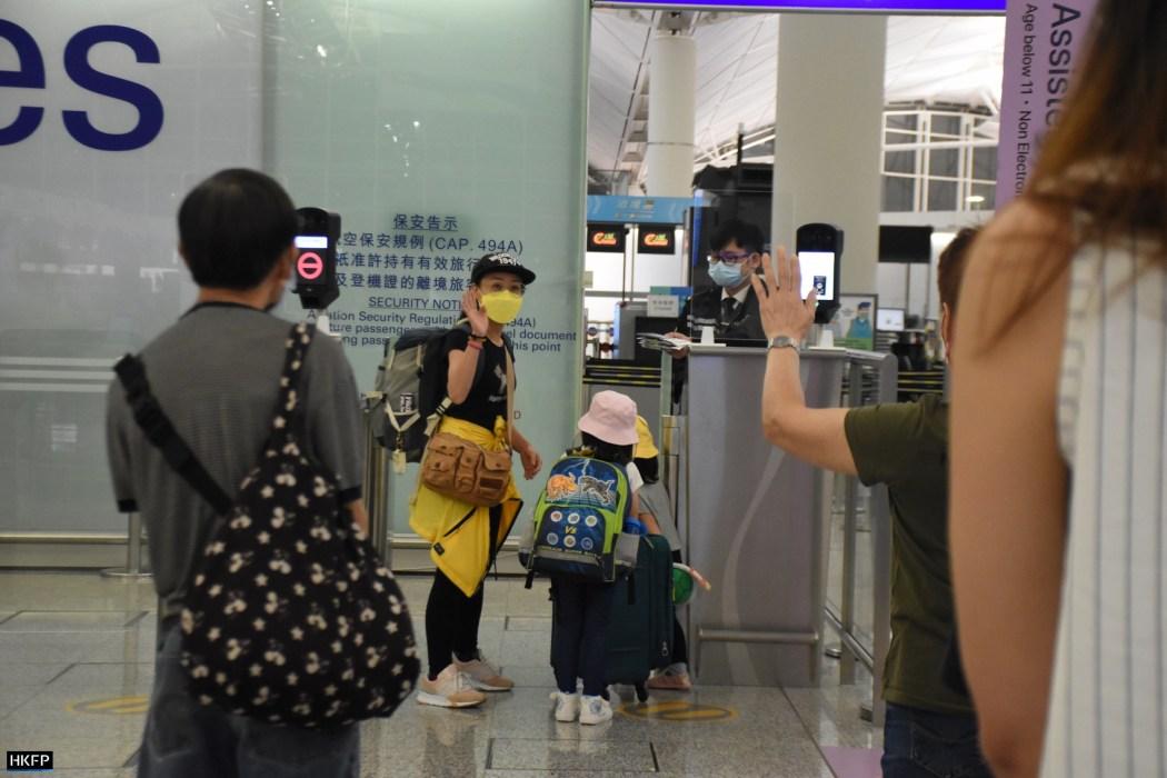 Hong Kong International Airport travel immigration emigration