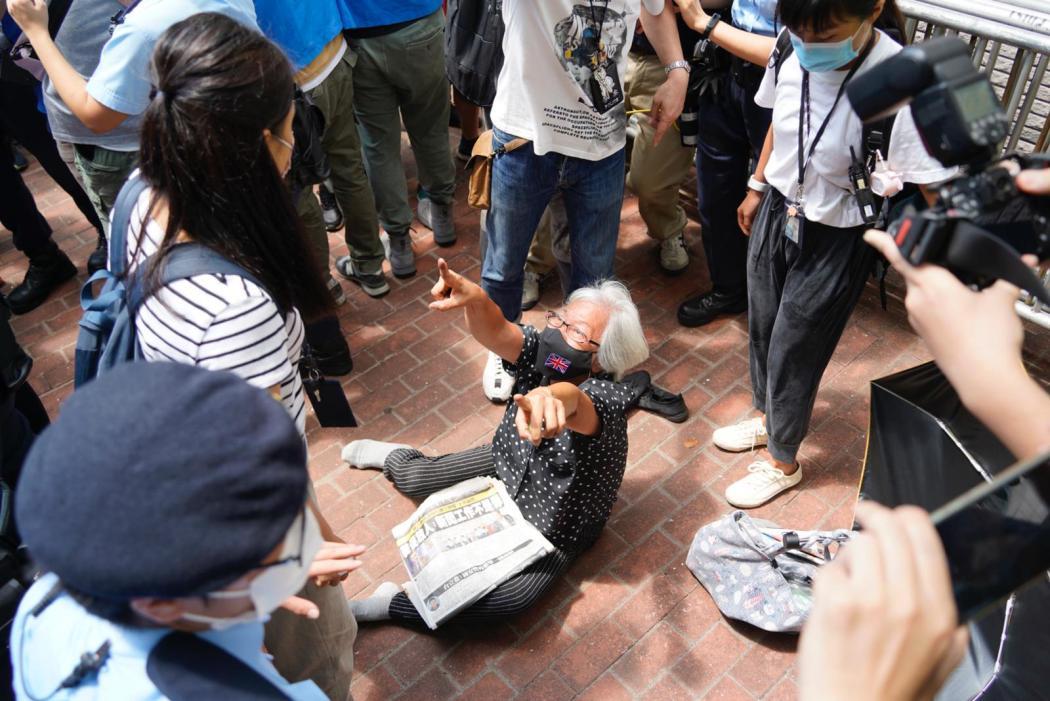 Grandma wong dragged