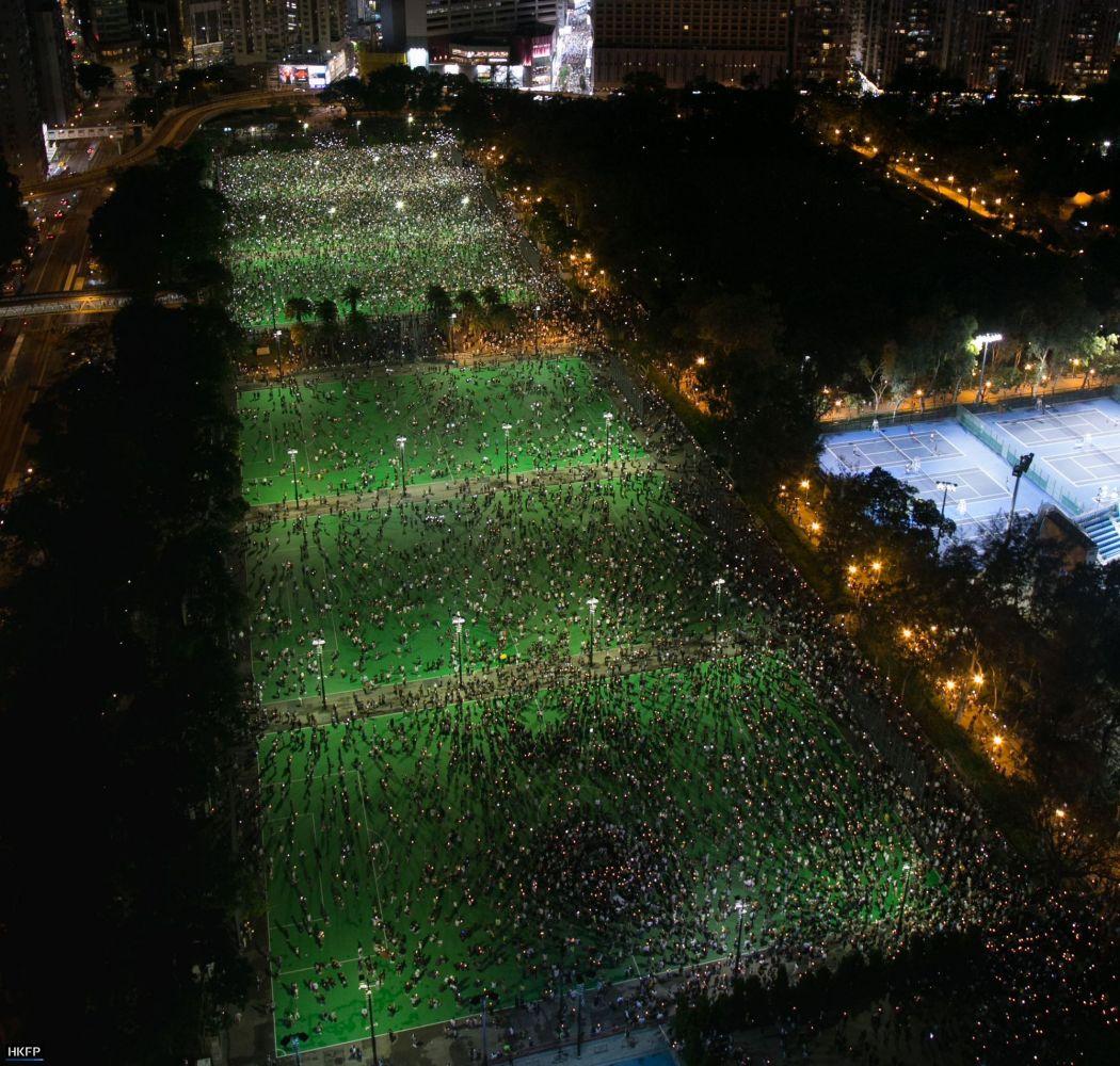 Tiananmen Massacre vigil in 2020