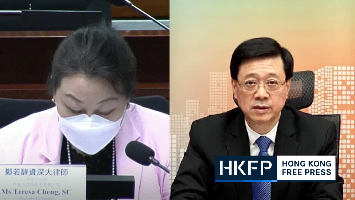 John lee and teresa cheng article 23 comments
