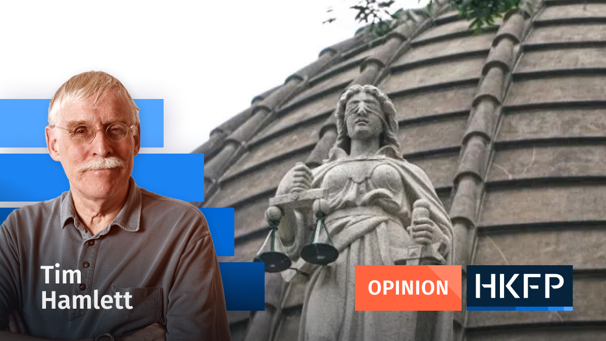 Tim Hamlett - no more politics in HK