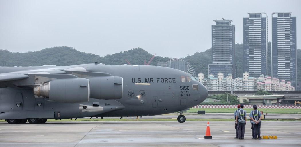 US air force Taiwan visit