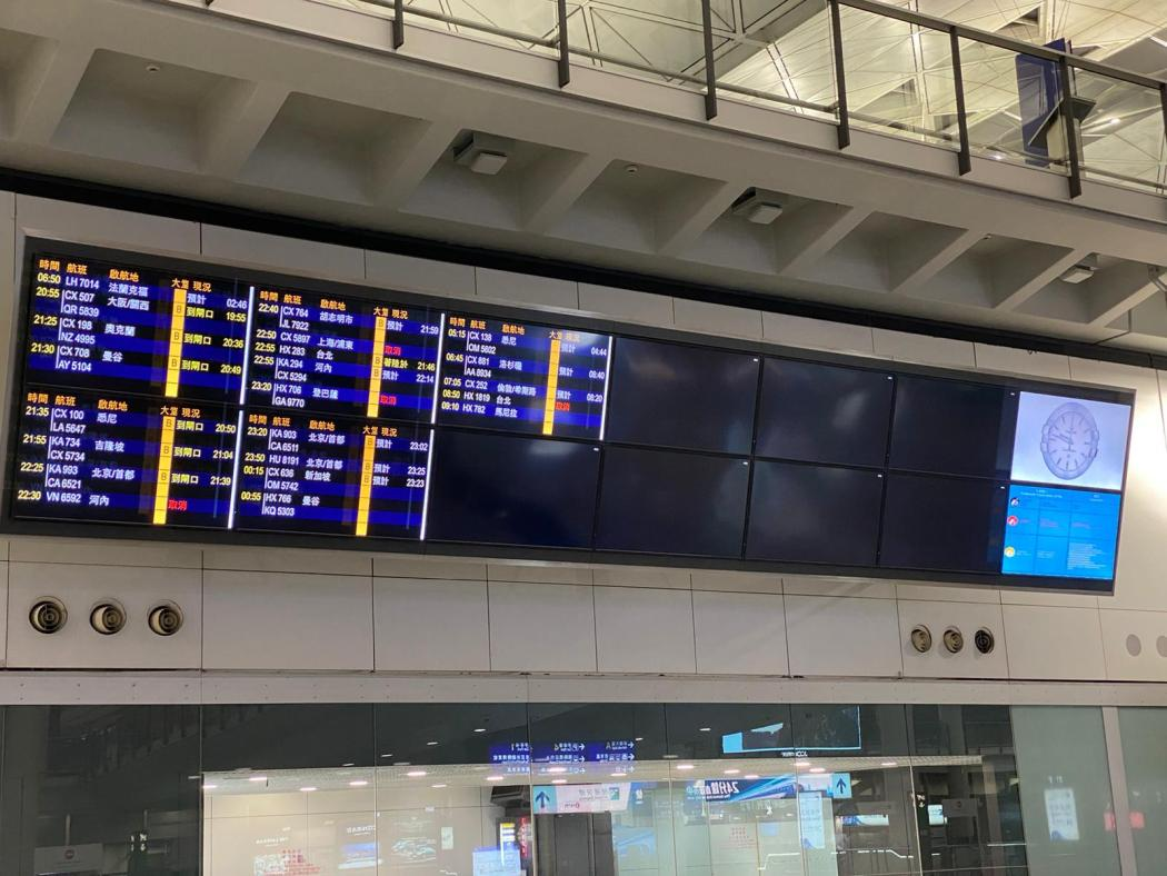 airport covid-19 empty arrivals board travel aircrew pilots cabin crew