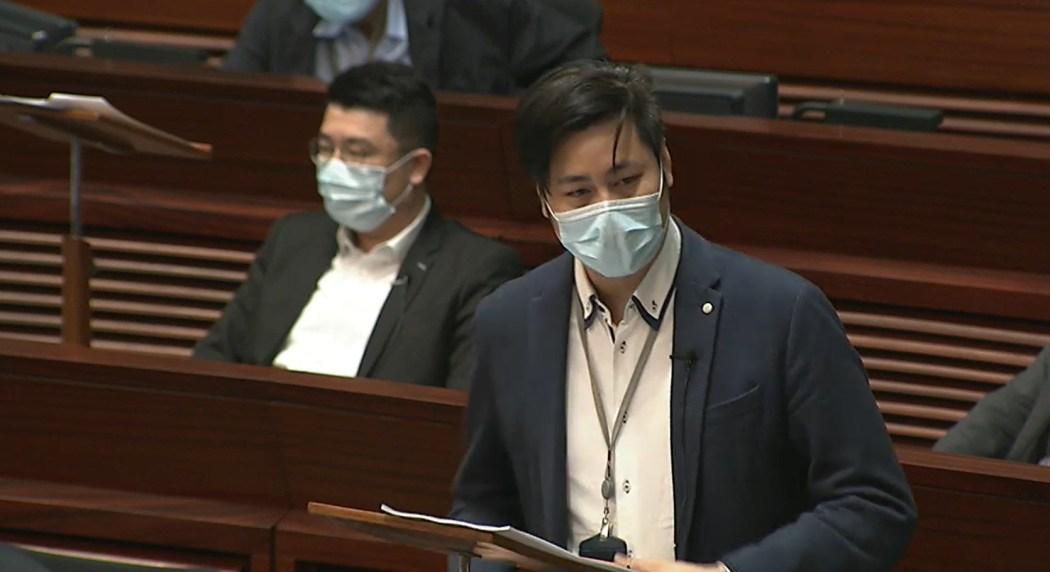 legco lawmaker steven ho chun yun