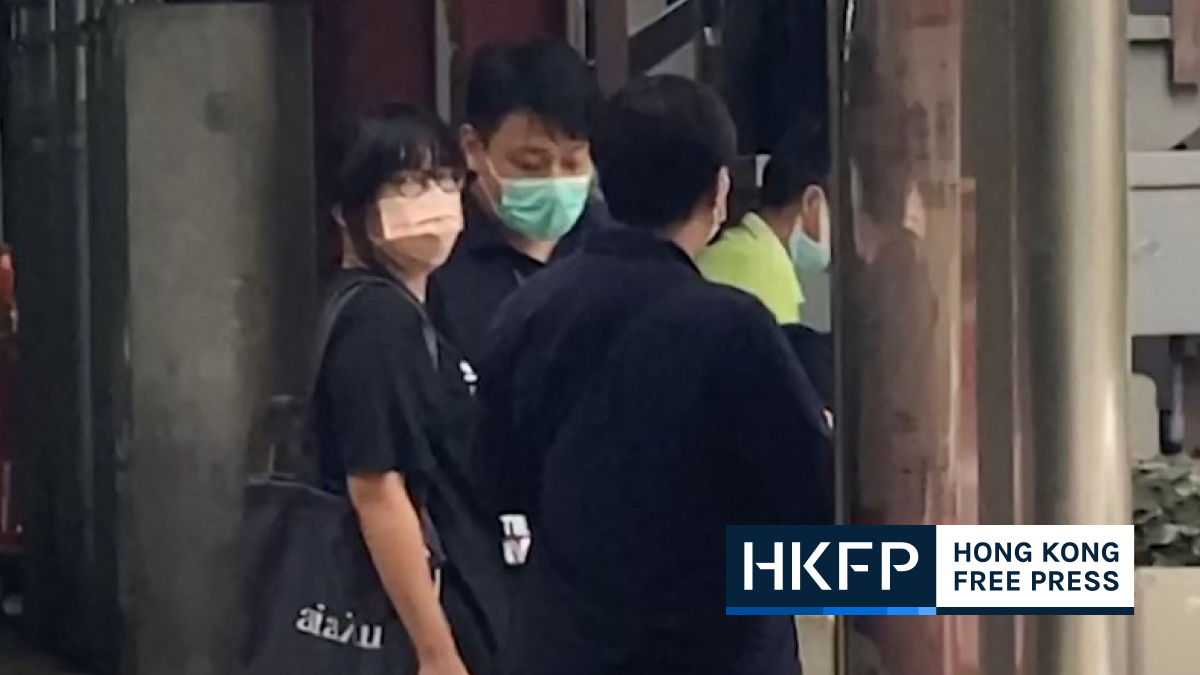 chow hang tung arrested