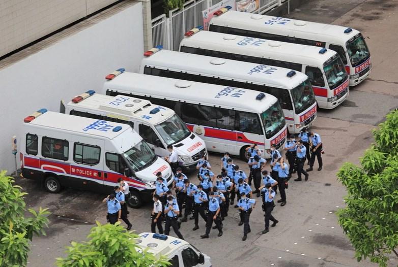 tiananmen massacre police