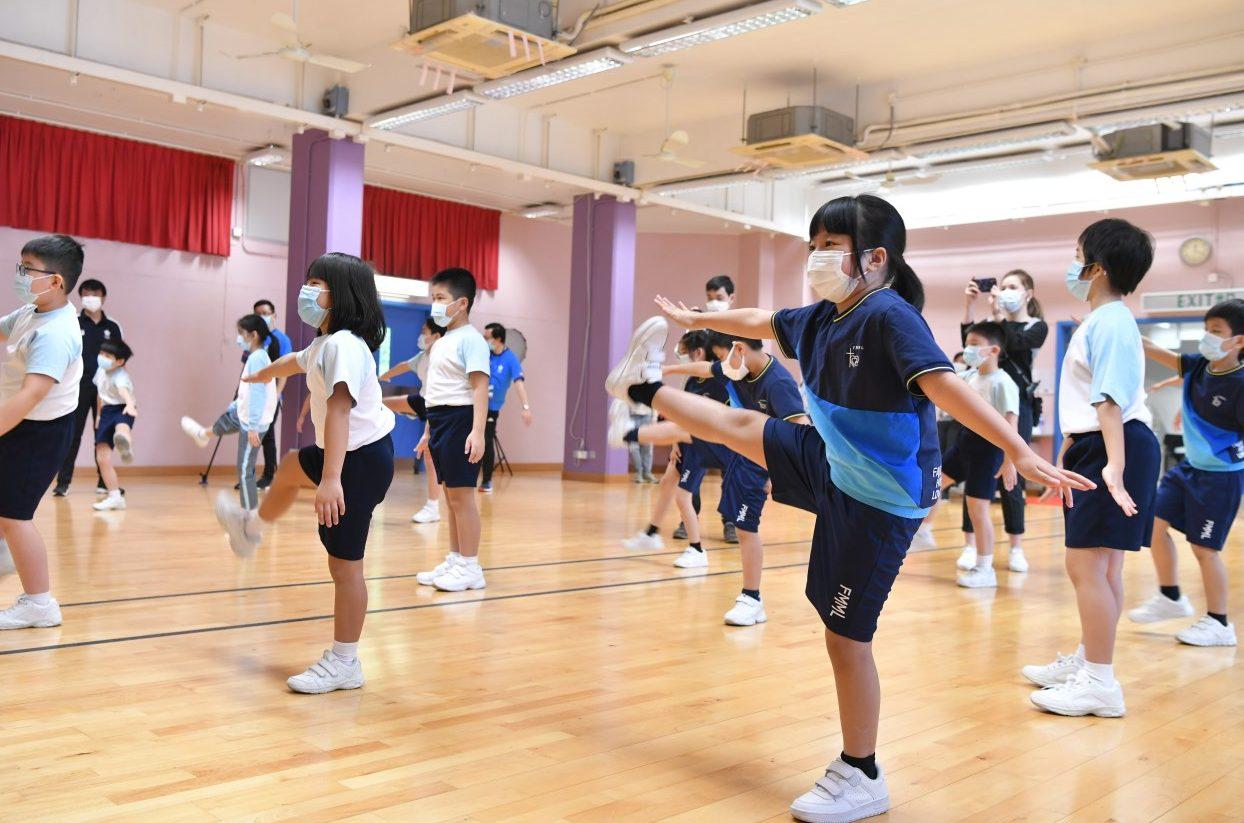 children sport class education school student