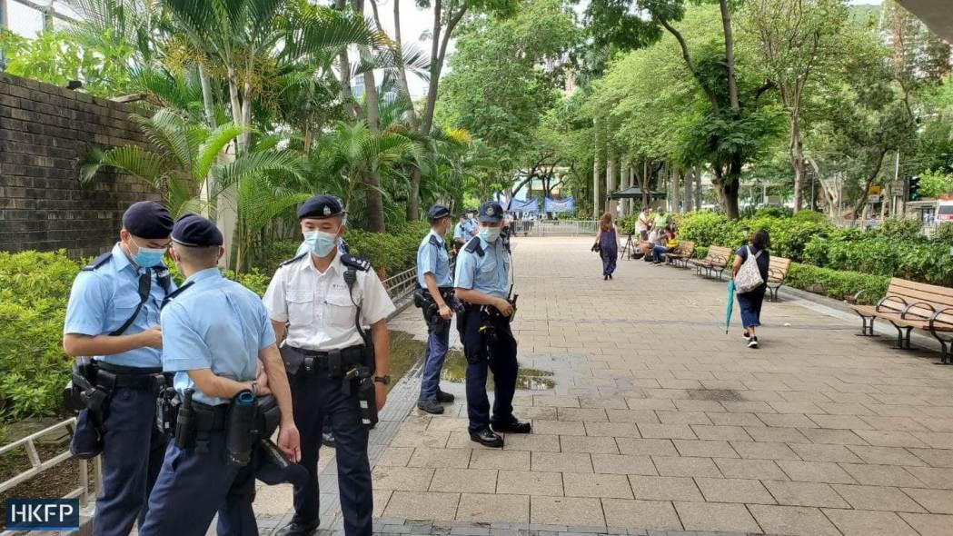 june 4 victoria park 2021 police