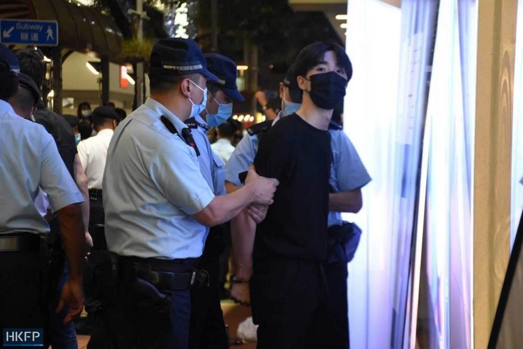 Police arrest June 4 Tiananmen Square 2021
