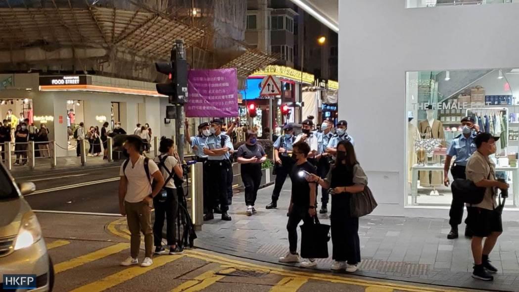 national security flag police June 4 Tiananmen Massacre