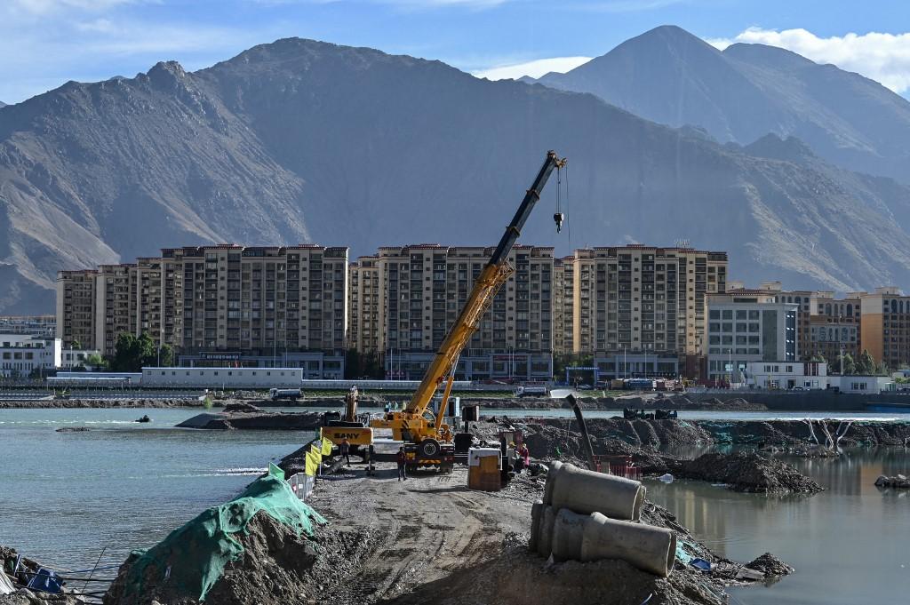 CHINA-TIBET-PROPERTY-CONSTRUCTION-RELIGION