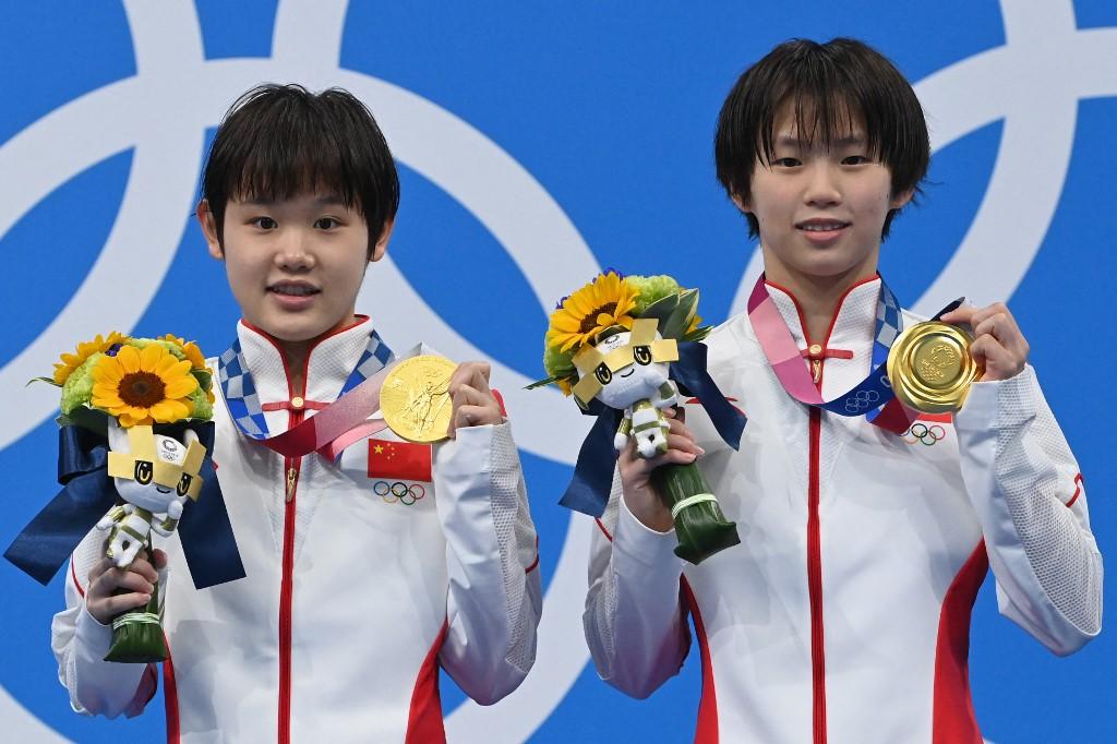 Zhang Jiaqi and Chen Yuxi