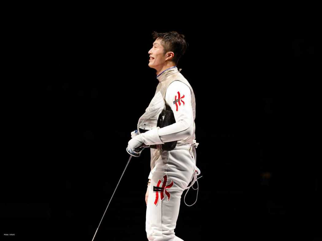 Tokyo Olympics Men's Foil fencing Edgar Cheung