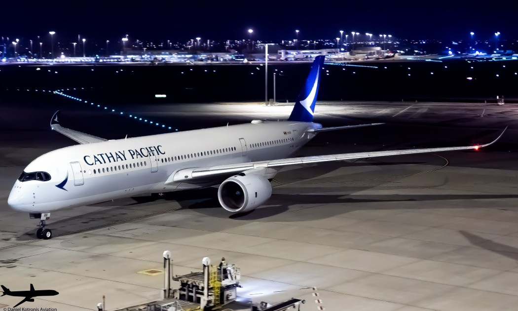airplane airport aviation cathay pacific airplane cx