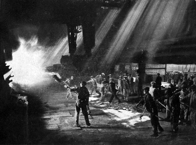 China 1958 great leap forward steel furnaces