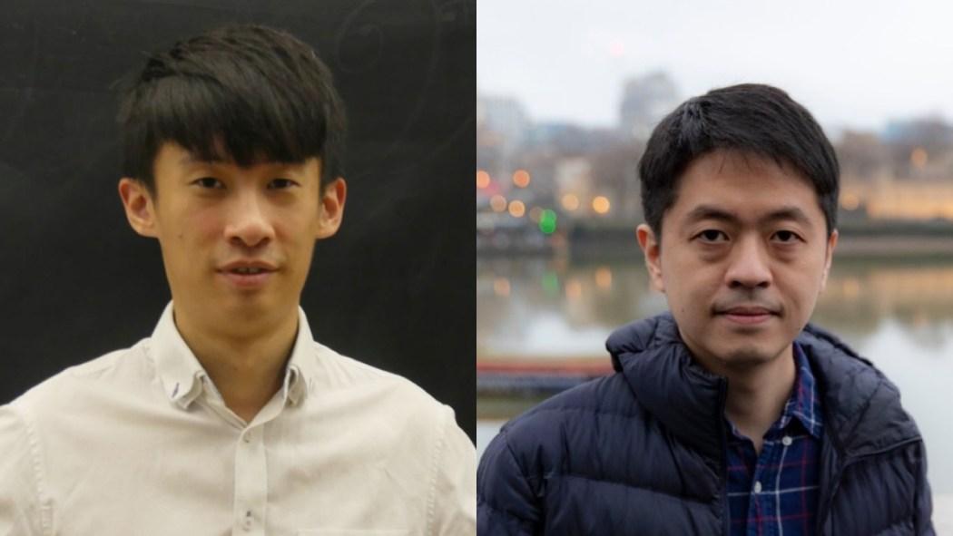Baggio Leung and Ted Hui